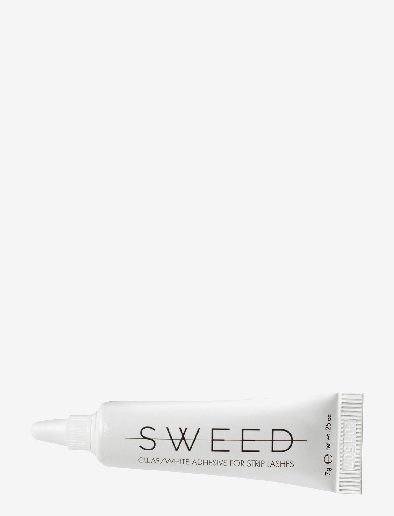 Sweed Lashes - Clear/White Adhesive For Strip Lashes - lösögonfransar - clear/transparant - 0