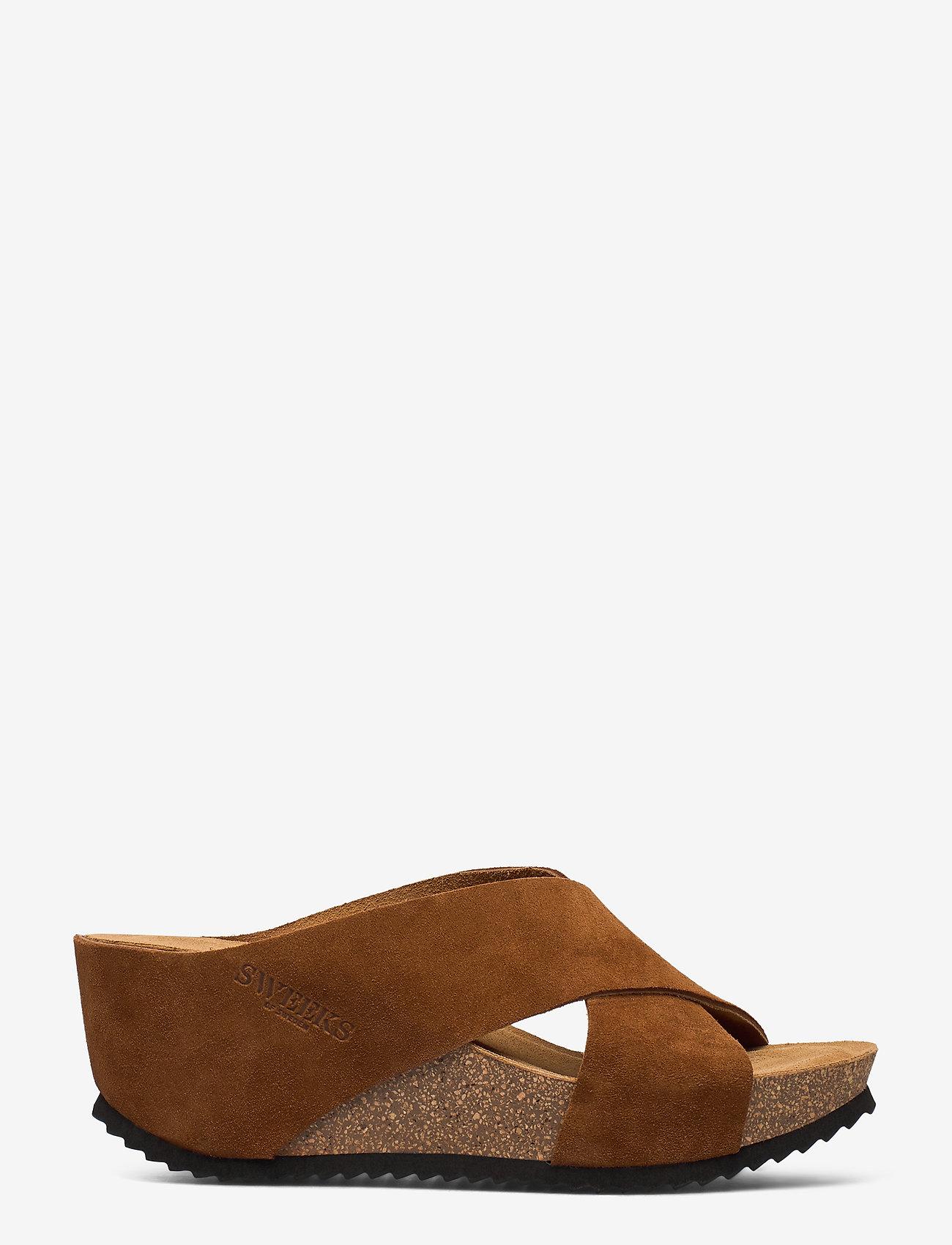 SWEEKS - Ester - mules & slipins - brown