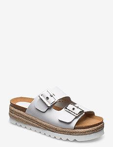 Sonja - flache sandalen - white