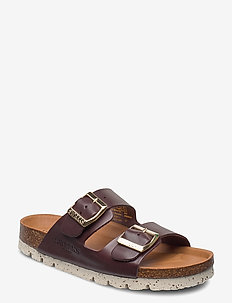 Edit - matalat sandaalit - brown