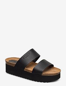 Hedda - mules & slipins - black