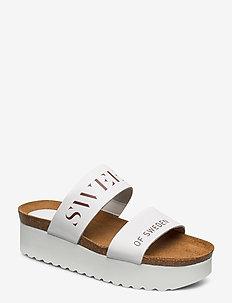 Hedda - mules & slipins - white