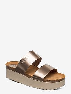 Hedda - mules & slipins - gold