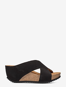 Ester - mules & slipins - black