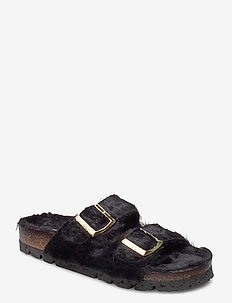 Edit - flade sandaler - black