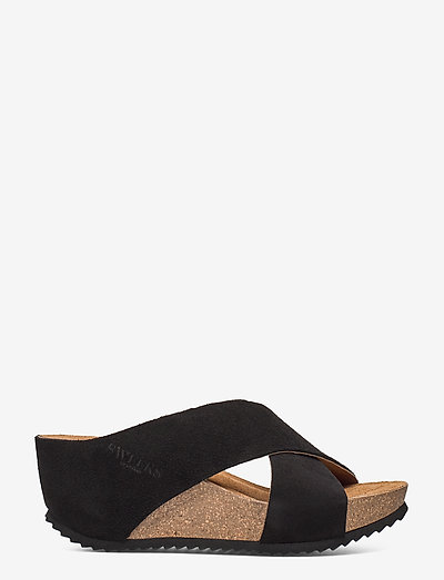 Sweeks Ester- Mules & Slipins Black