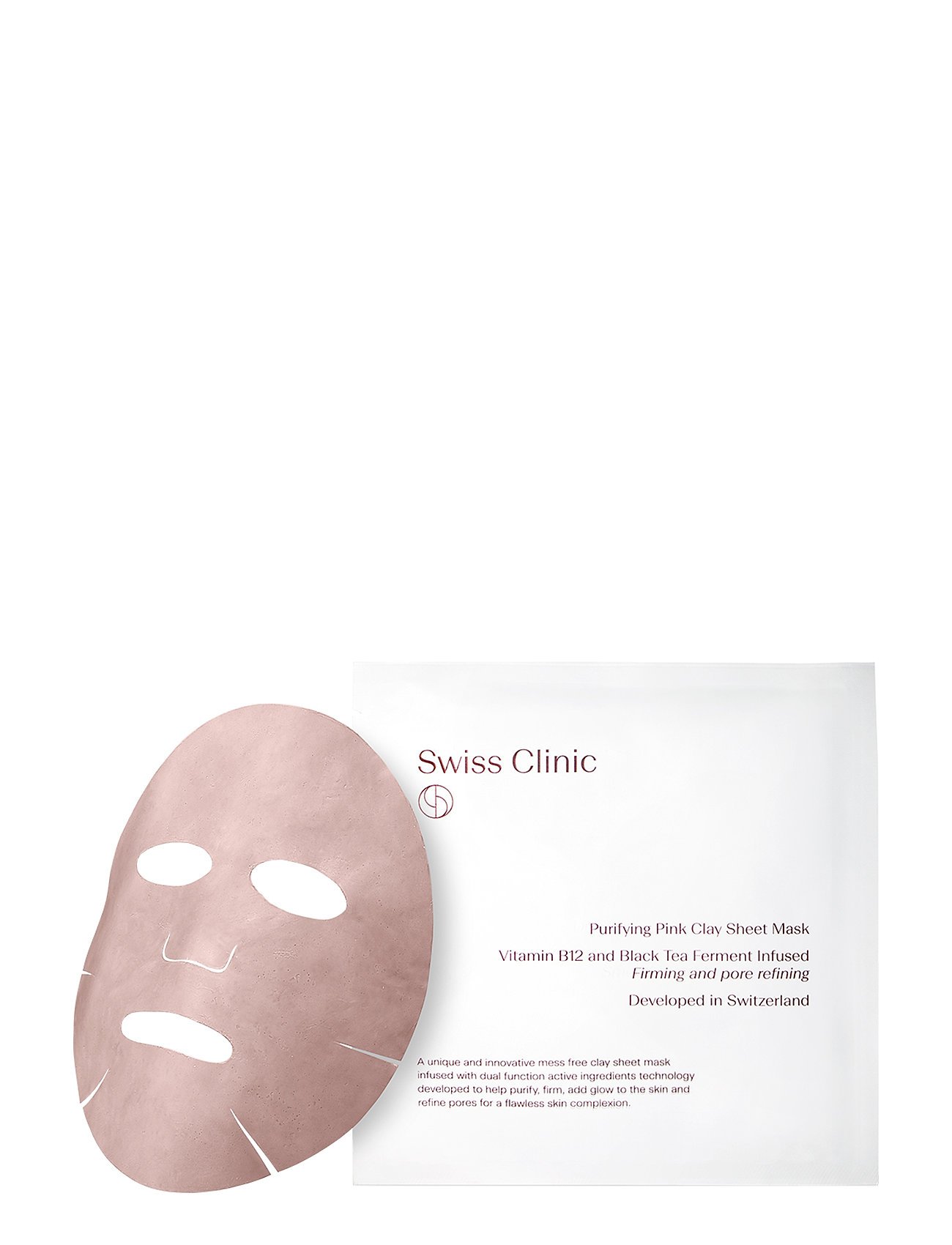 Image of Purifying Pink Clay Mask Hudpleje Ansigtspleje Nude Swiss Clinic (3333557893)