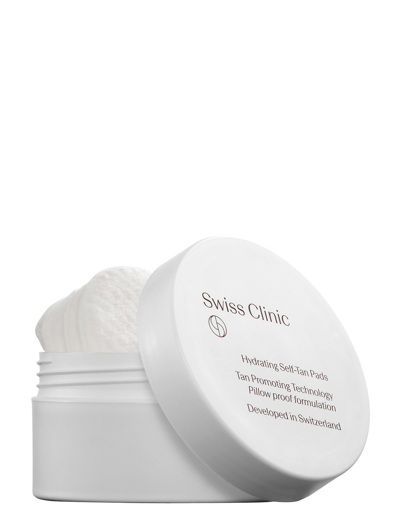 Swiss Clinic Hydrating Self-Tan pads - NO COLOR