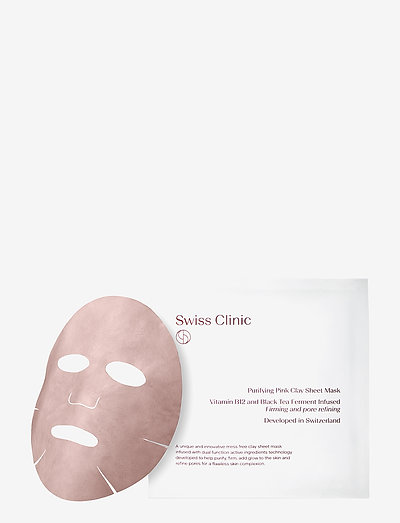 Purifying Pink Clay Mask - ansiktspleie - clear