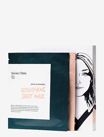 Detox & Glam Treatment - sheet mask - clear