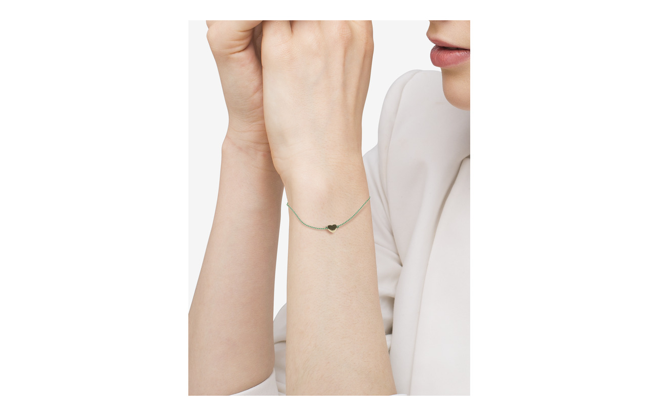 Syster P Sparkle Bracelet Heart guld Aqua Smycken