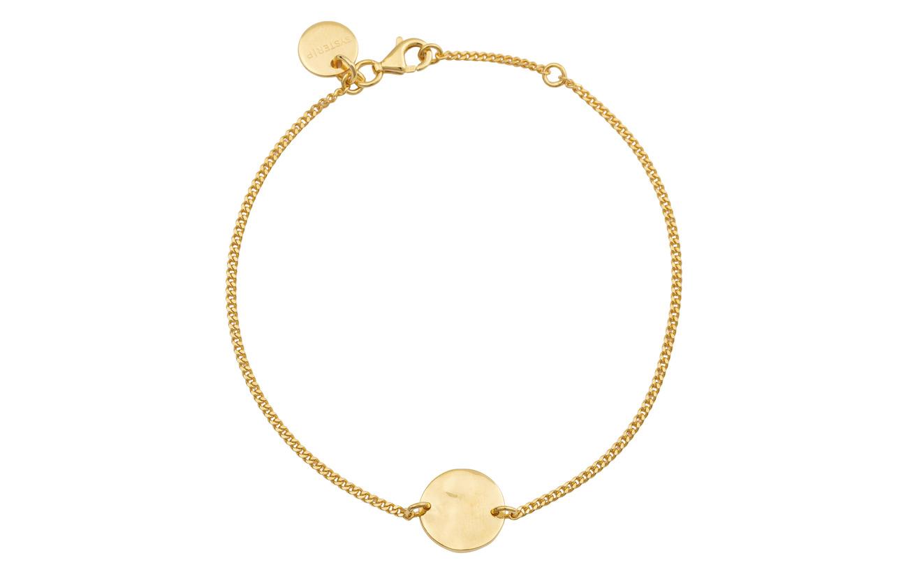 Bracelet Hammered GoldgoldSyster P Minimalistica Circle uXOiPkZwT