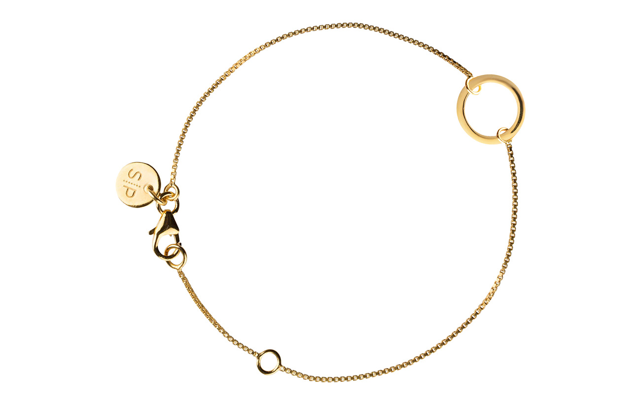Syster P MINIMALISTICA RING BRACELET GOLD - GOLD