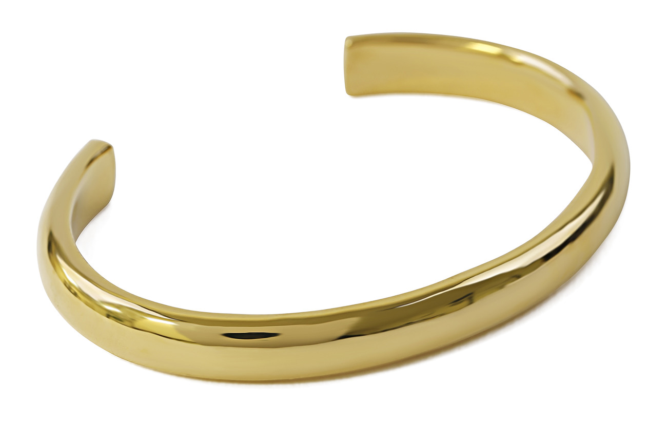 Syster P Bolded Bangle Gold - GOLD
