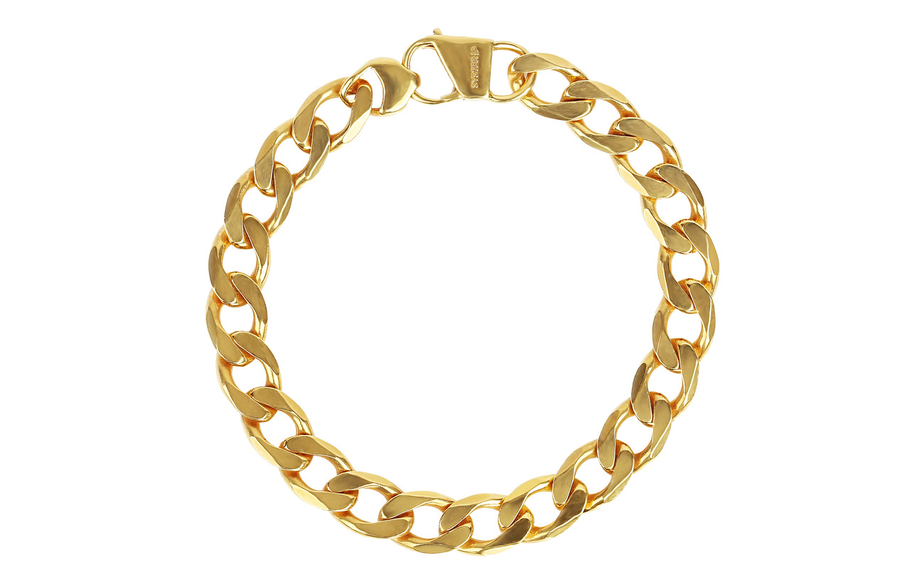 Syster P Links Curb Chain Bracelet Gold - GOLD