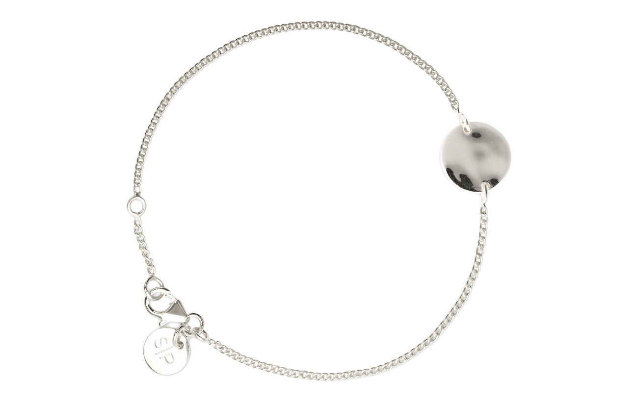 Minimalistica Bracelet Hammered SilversilverSyster Circle P WD2IE9YH