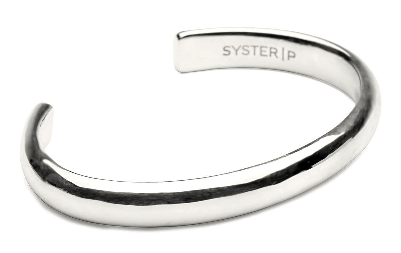 Syster P Bolded Bangle Silver - SILVER