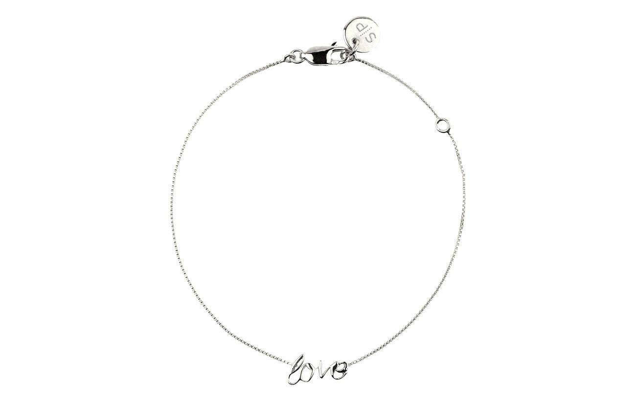 Syster P Snap Bracelet Love Silver - SILVER