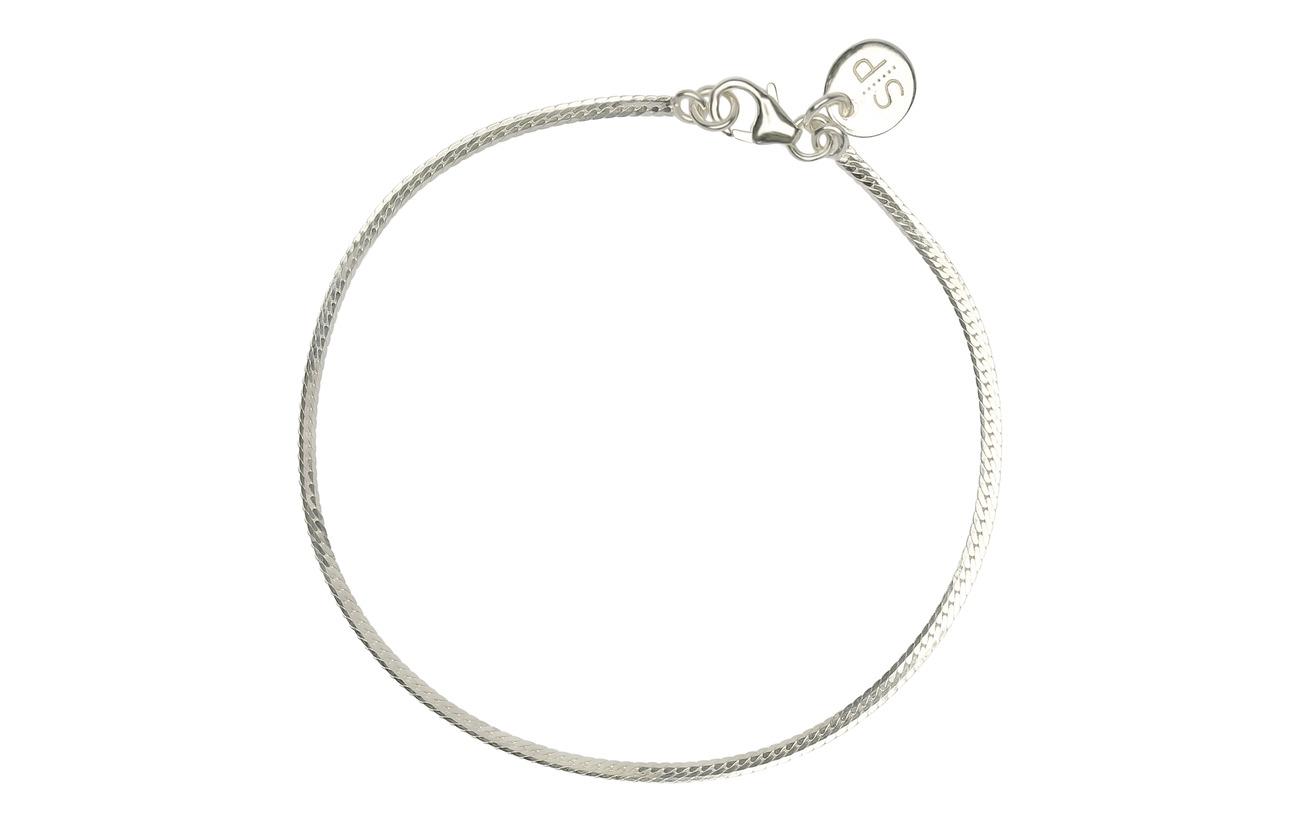 Syster P Herringbone Bracelet Silver - SILVER