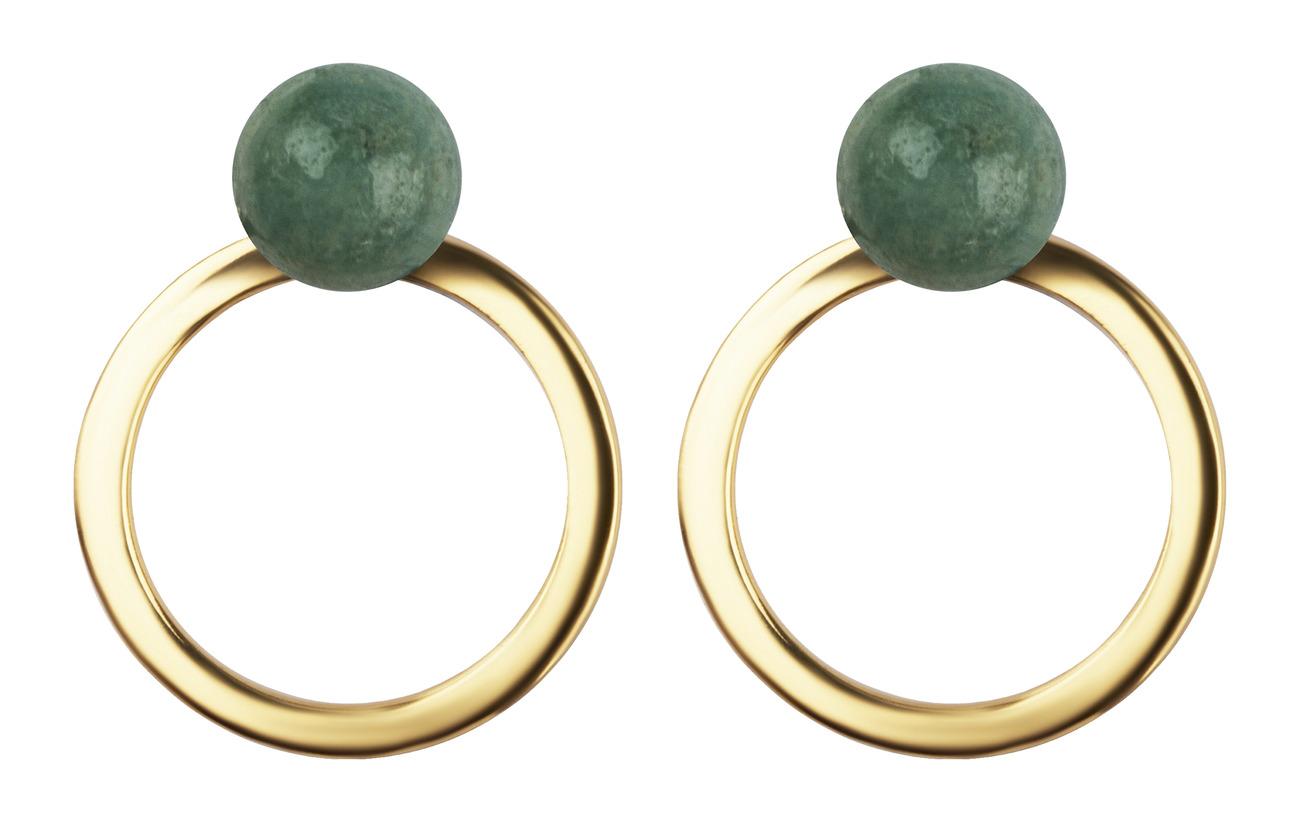 P Gold Earrings Planet Planet Earrings AmazonitegoldSyster 1FcKTlJ