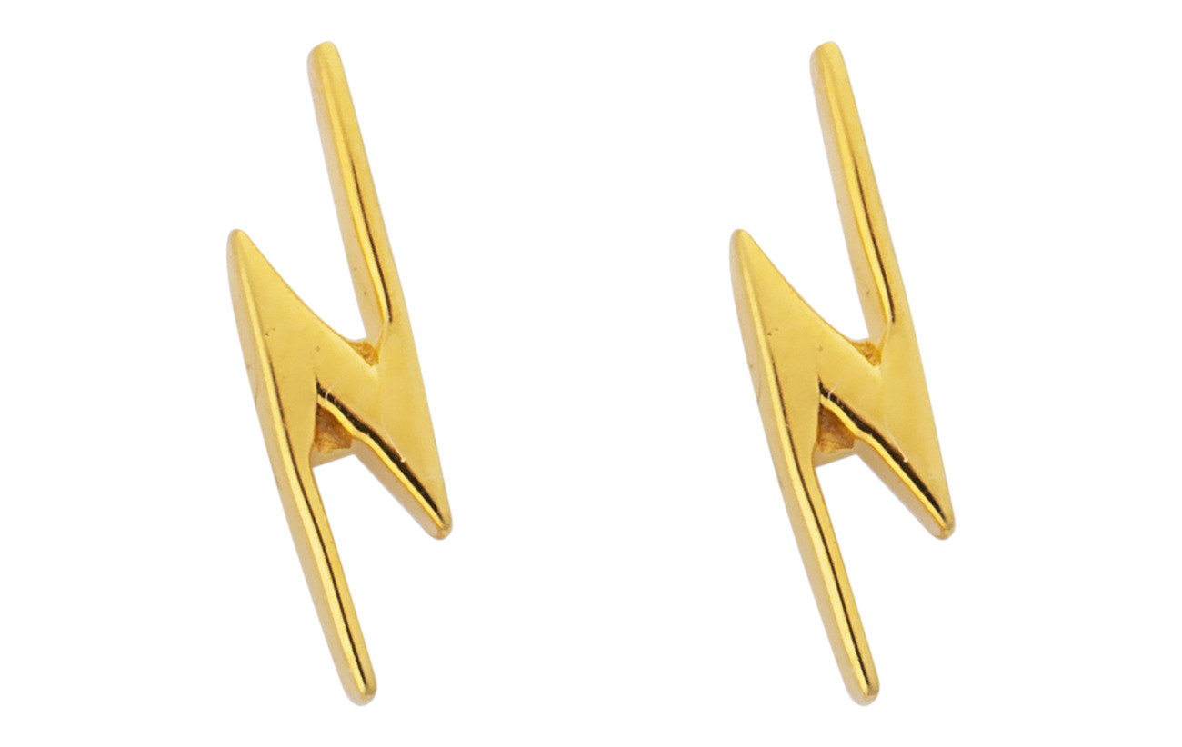 Syster P SNAP EARRINGS FLASH GOLD - GOLD