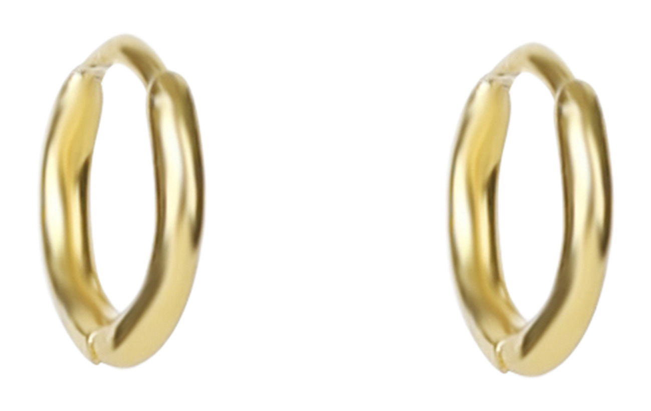 Syster P Mini Hoop Earrings Gold - GOLD