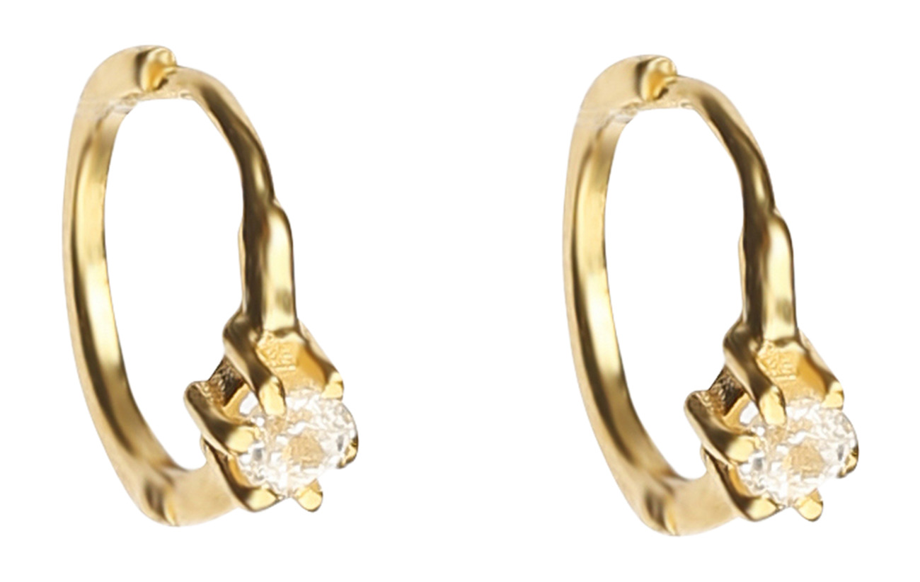 Syster P Mini Princess Hoop Earrings Gold - GOLD