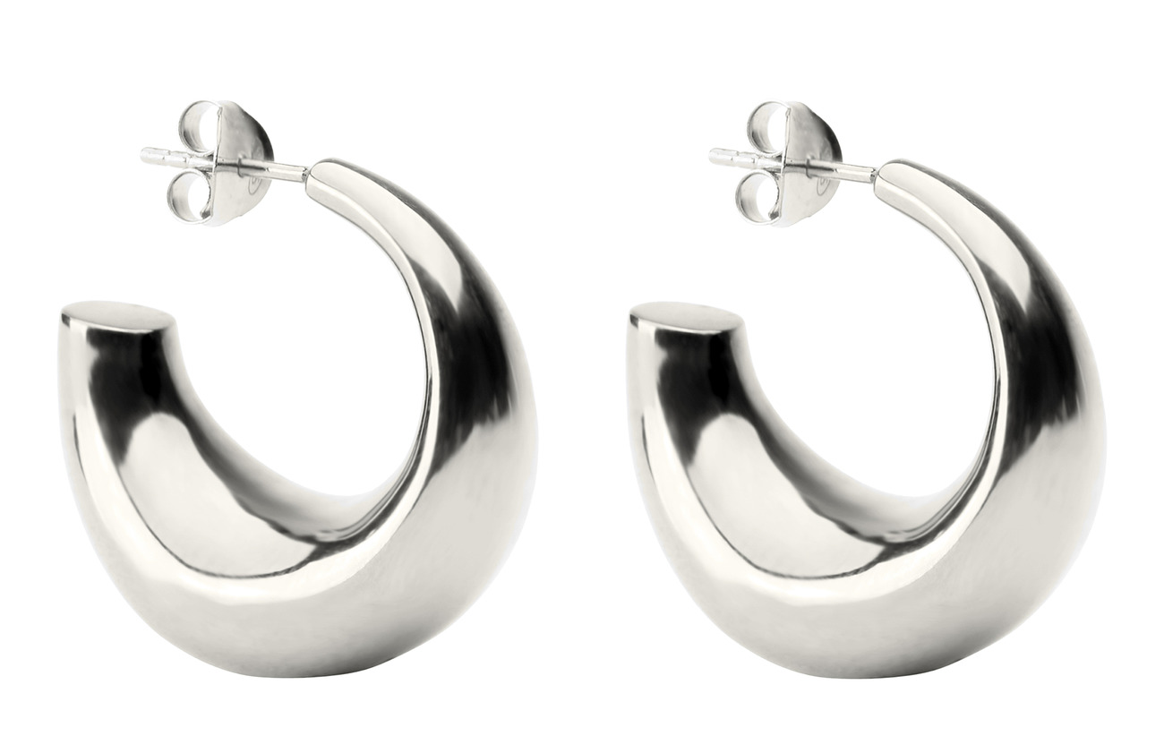 Syster P Bolded Earring Silver - SILVER
