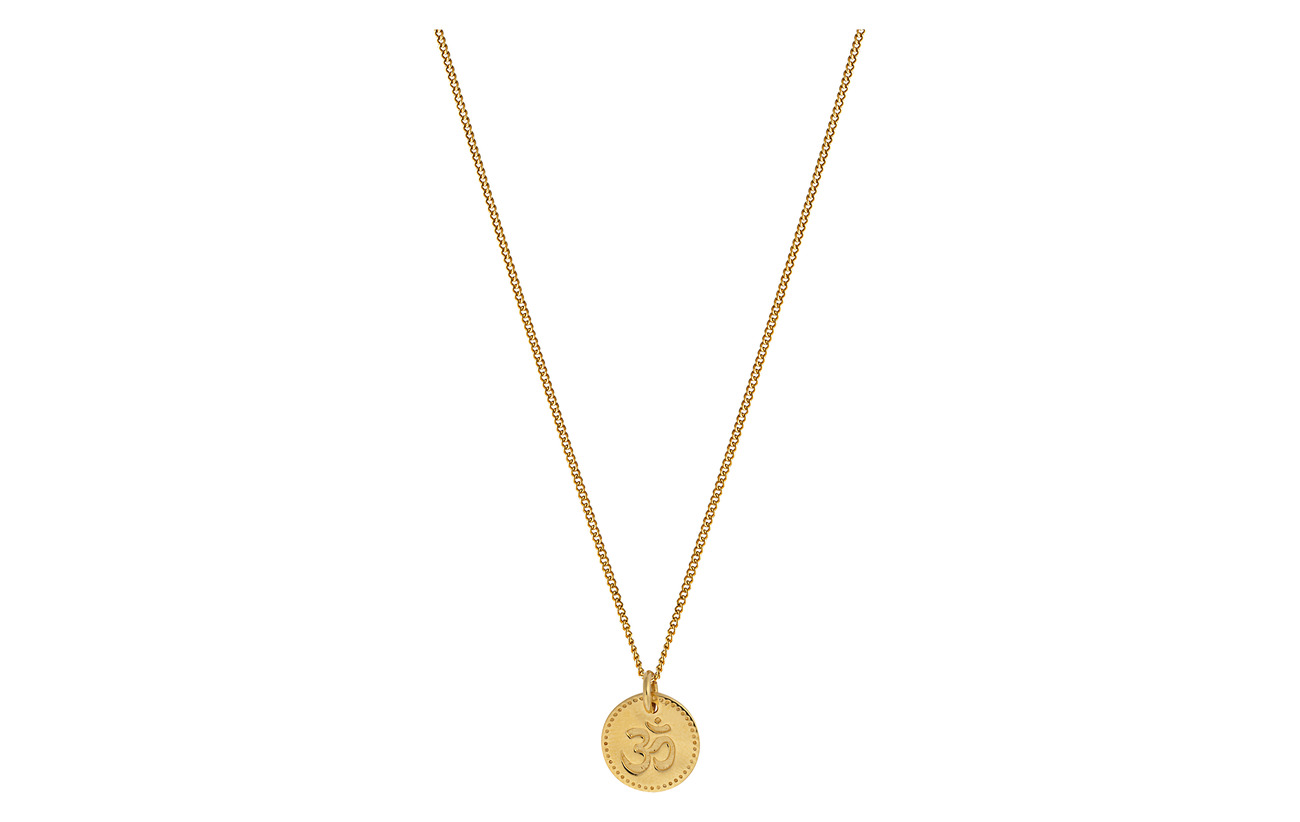 Syster P Karma Necklace Namaste - GOLD