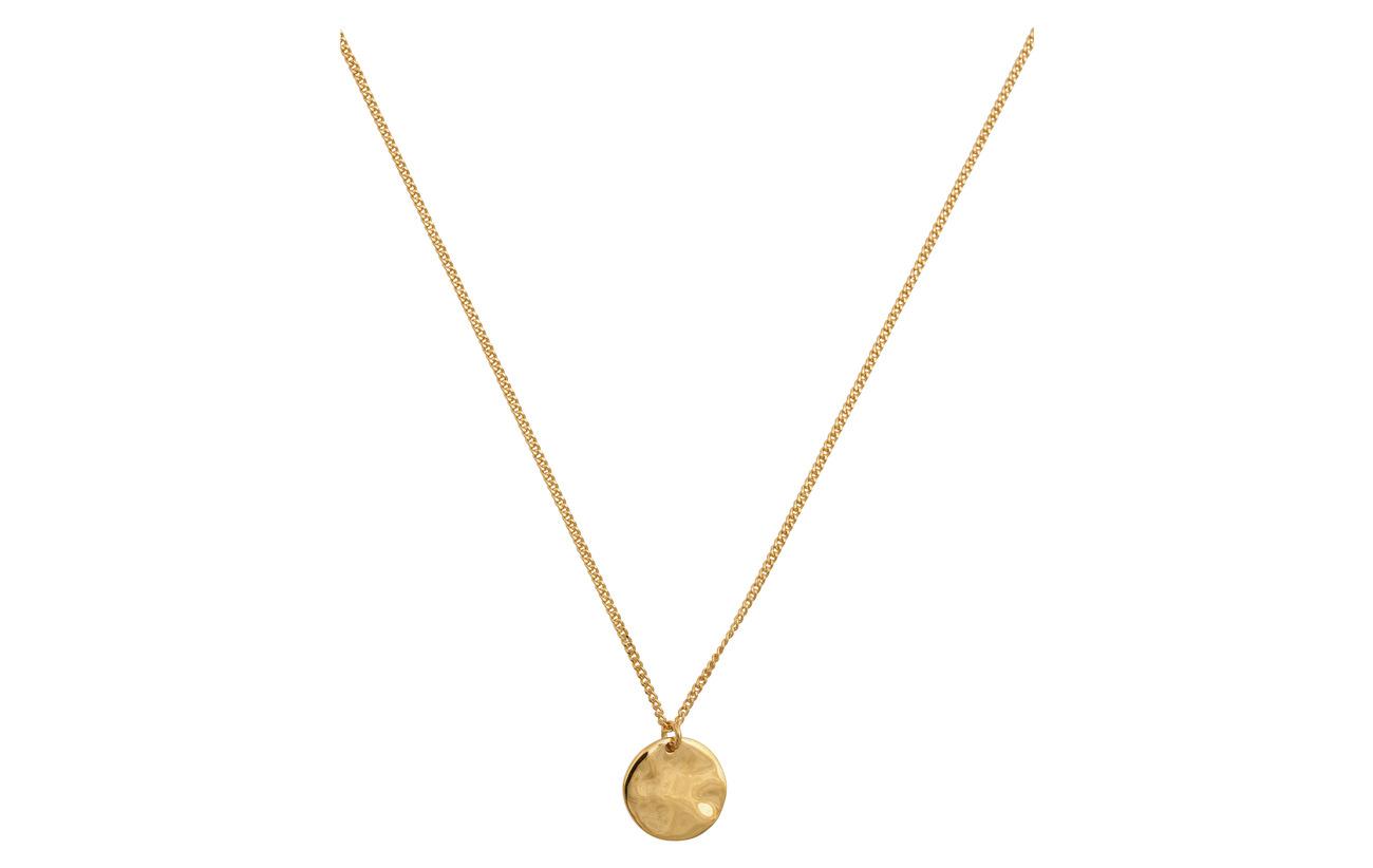 Minimalistica Circle Hammered GoldgoldSyster P Necklace zVUMpS