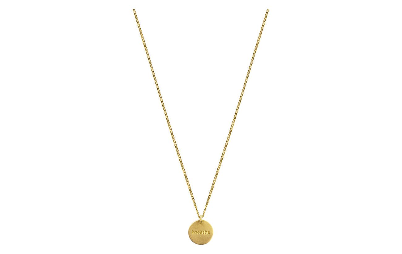 Necklace P Minimalistica Minimalistica Breathe Necklace Minimalistica Breathe Breathe P Necklace GoldgoldSyster GoldgoldSyster kwOXPn80