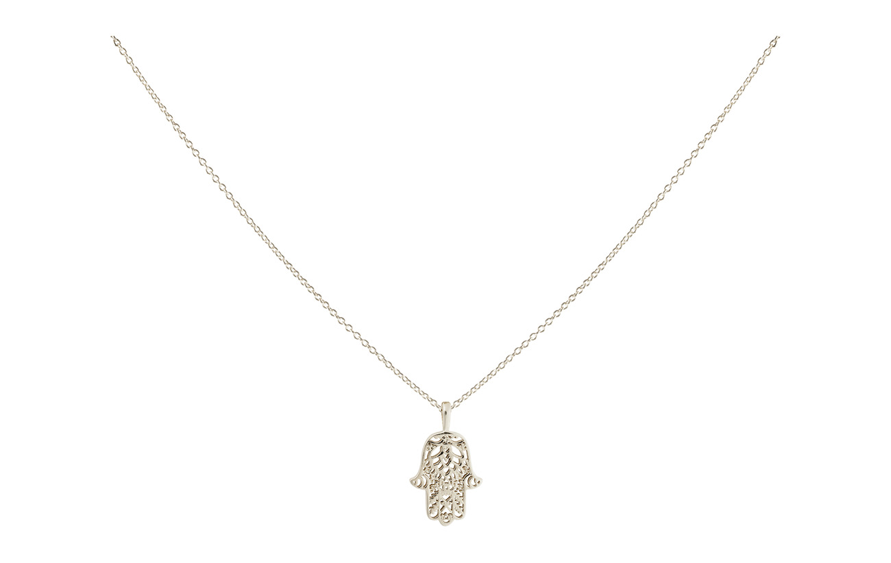 Syster P Karma Necklace Hamsa - SILVER