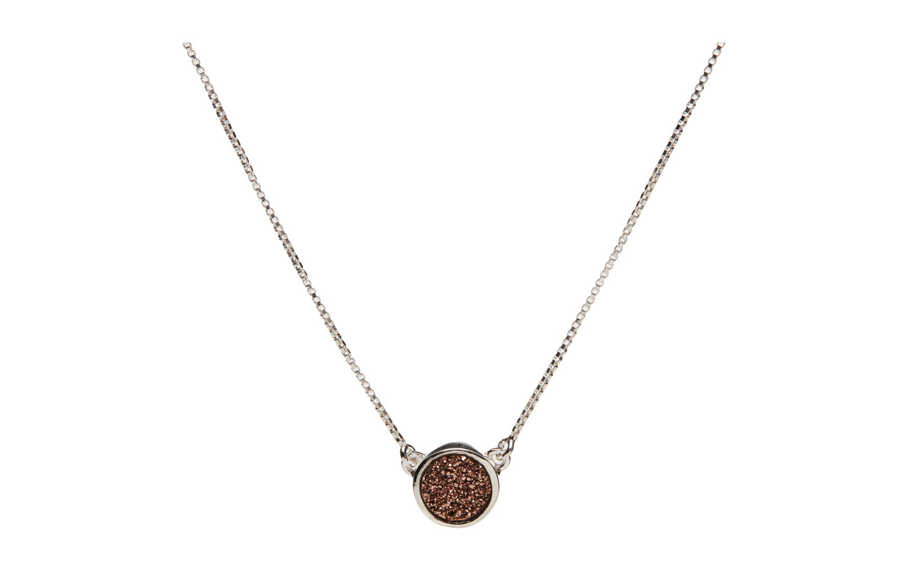 Necklace Druzy RosesilverSyster Silver Frances P nkXwOP08