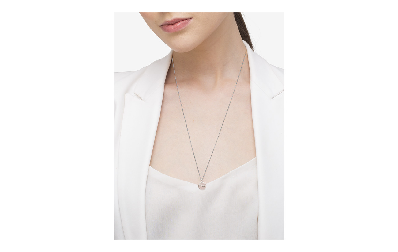 Syster P PLANET NECKLACE silver rosa Smycken
