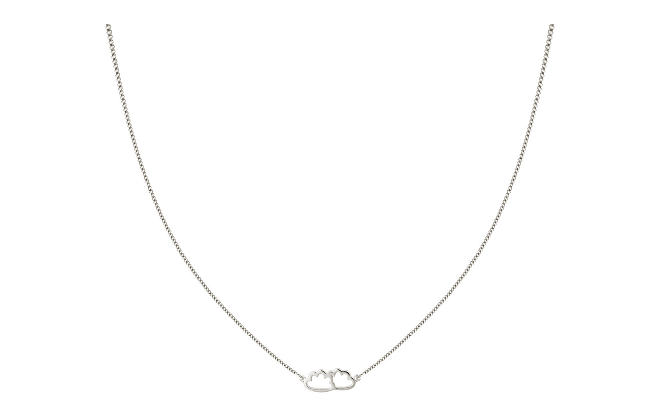 Syster P SNAP NECKLACE CLOUD SILVER - SILVER