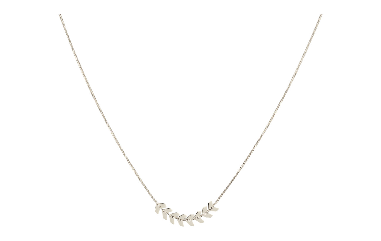 Syster P Layers Simone Necklace Silver - SILVER