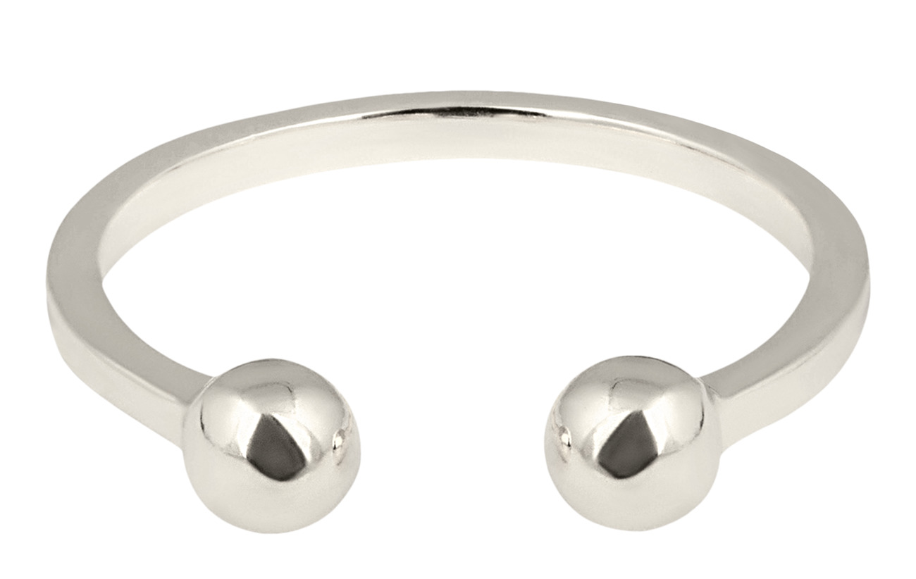Syster P STRICT BALL RING SILVER - SILVER