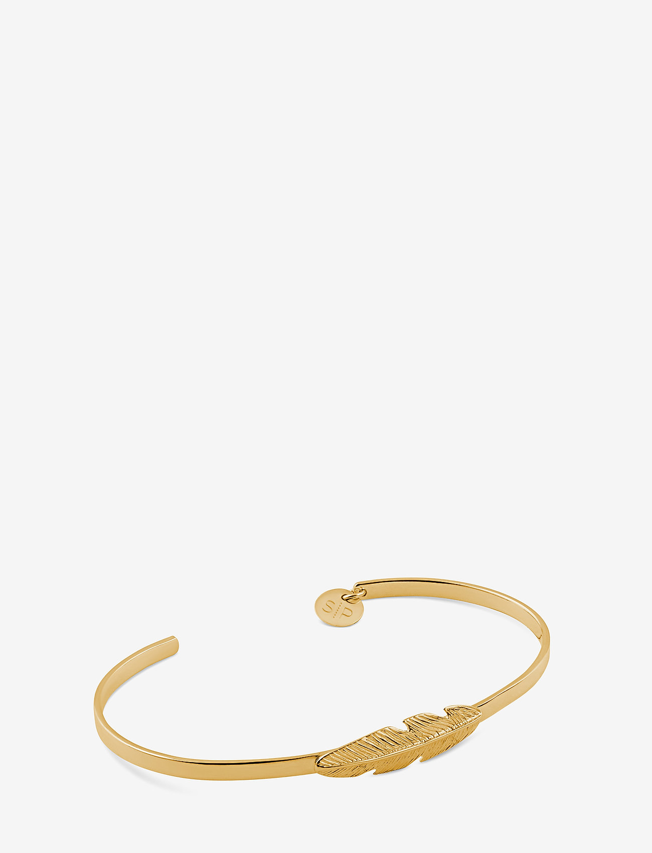 Syster P - Feather Bangle Gold - bangles - gold - 0