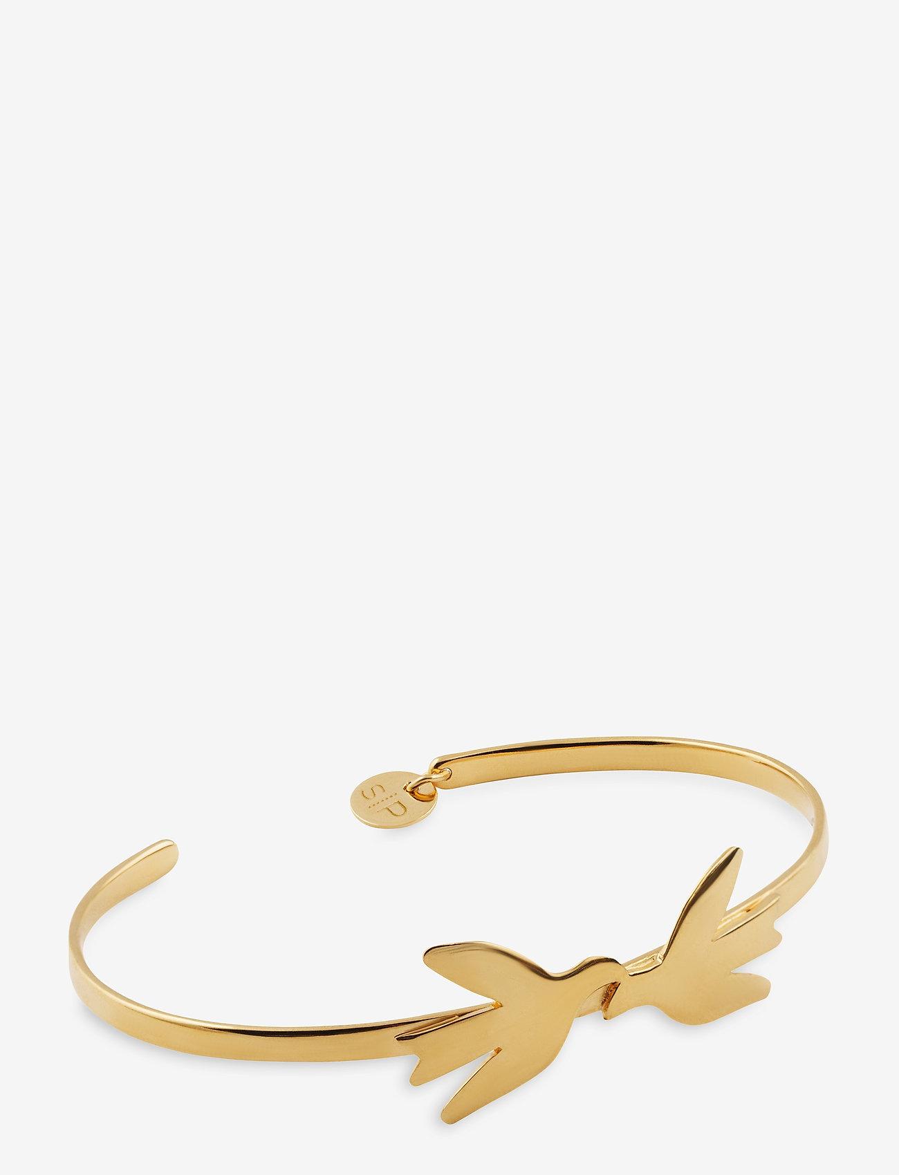 Syster P - Birdy Bracelet Gold - dainty - gold - 0