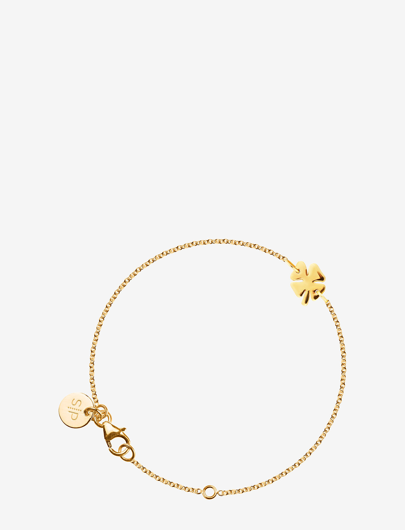Syster P - Bring me luck bracelet Gold - dainty - gold - 0