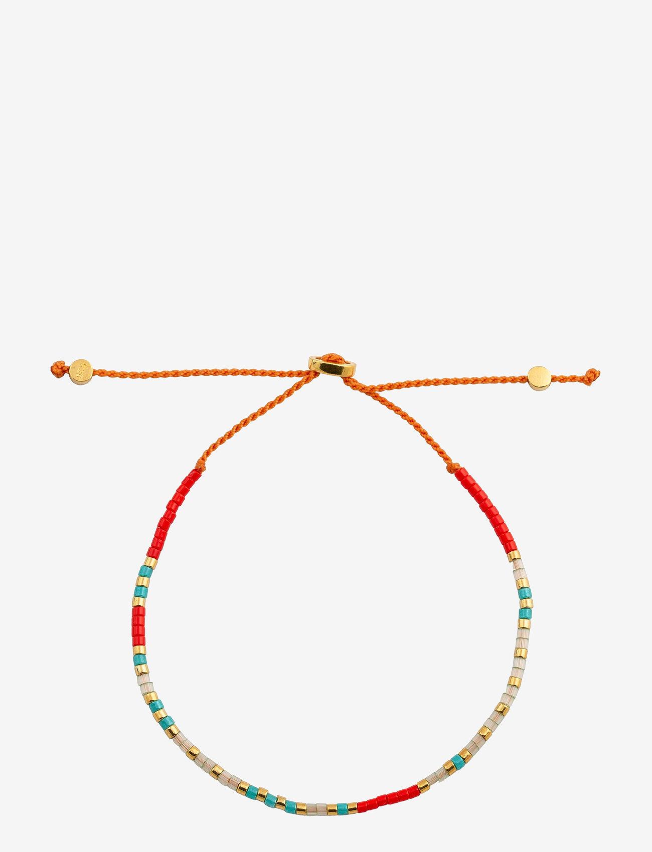 Syster P - Code Bracelet Gold, I love you - stilīgs - gold - 0