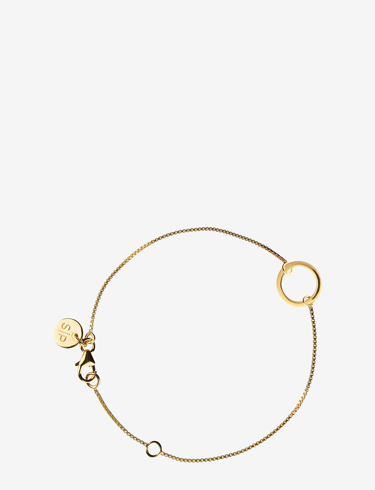 Syster P - MINIMALISTICA RING BRACELET GOLD - dainty - gold - 0