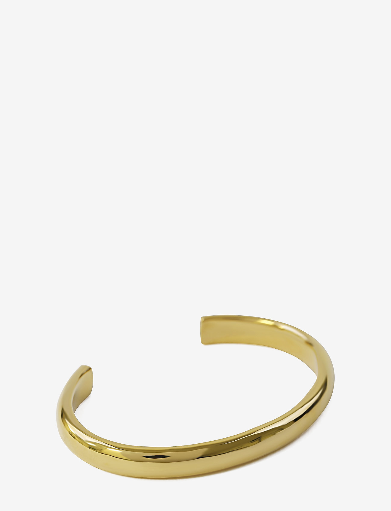 Syster P - Bolded Bangle Gold - bangles - gold - 0