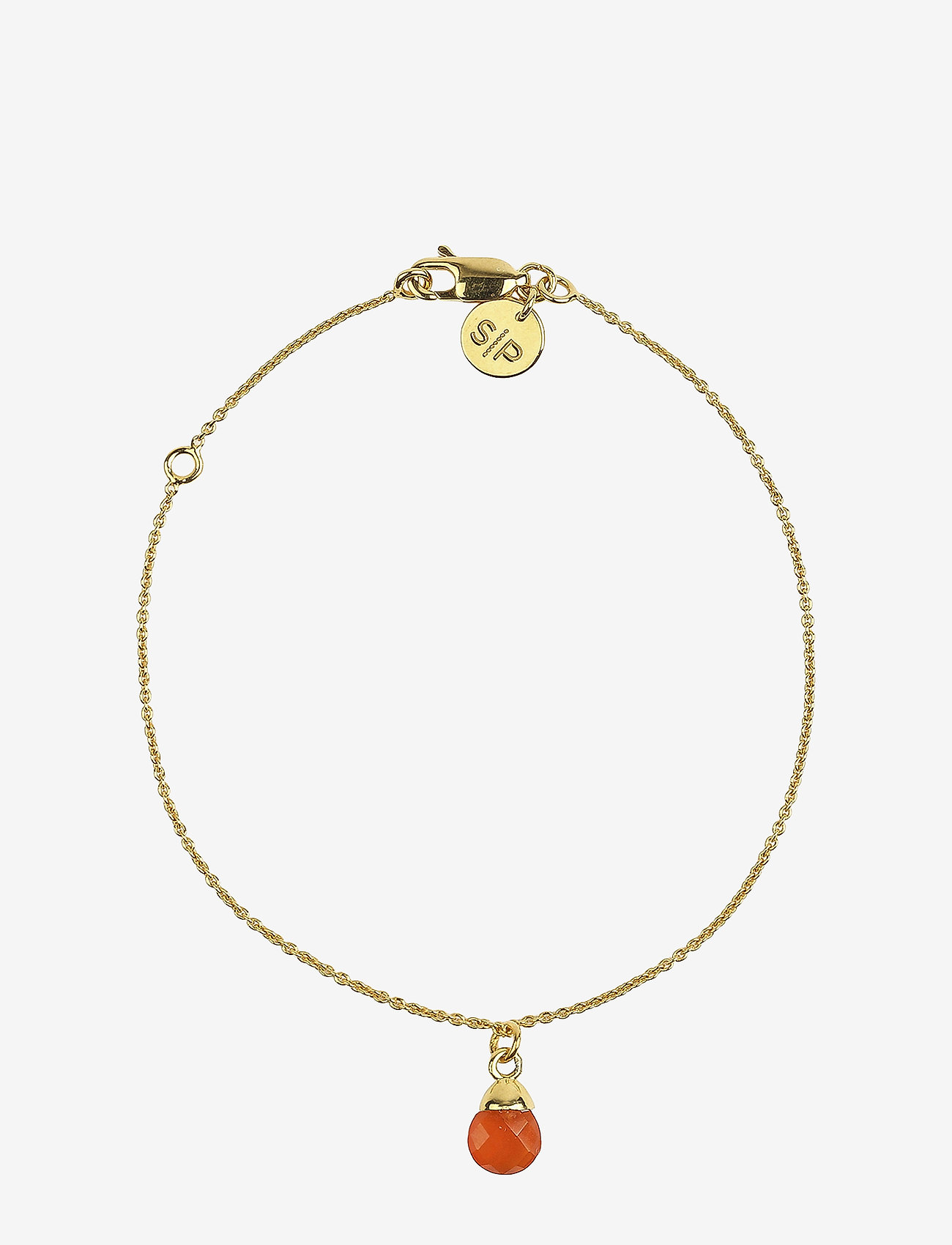 Syster P - Mini Teardrop Bracelet Gold - dainty - gold - 0