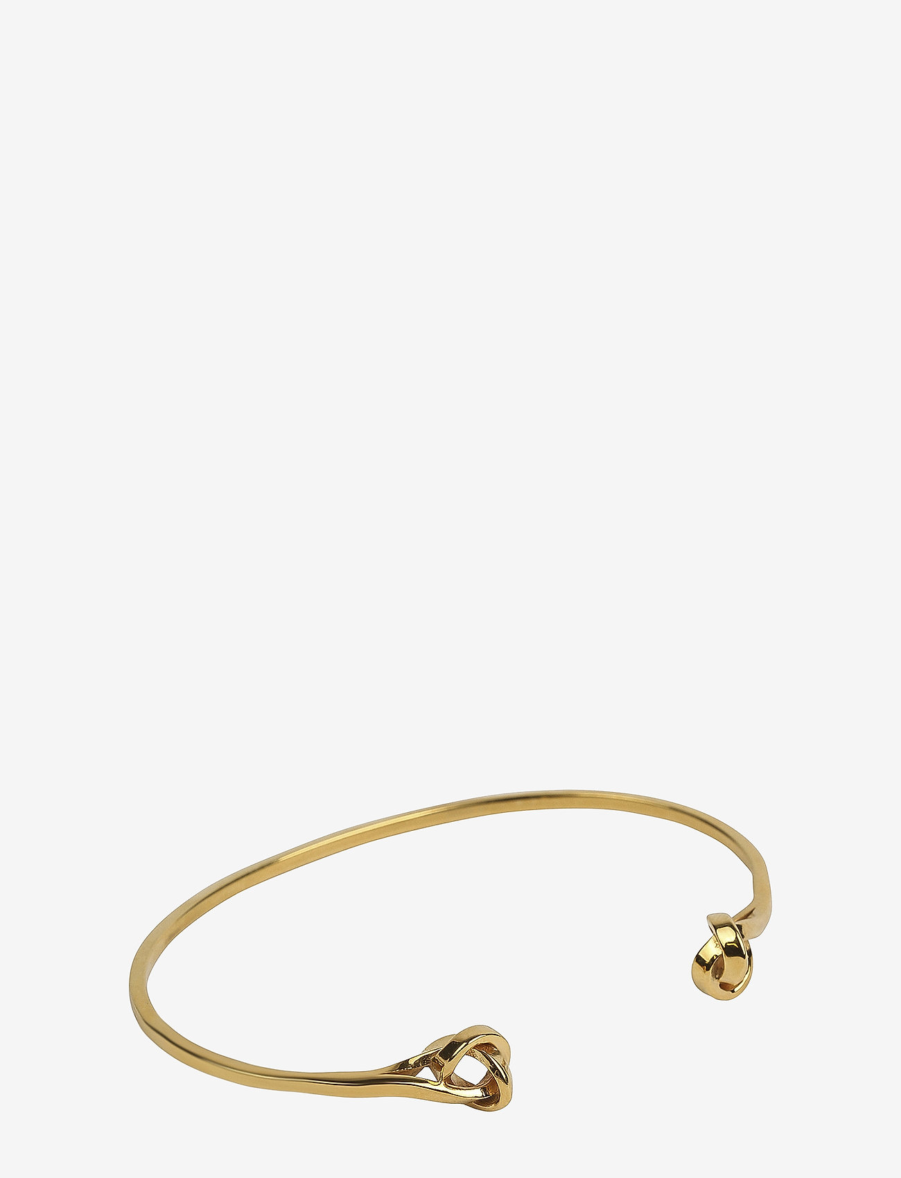 Syster P - Tied Bangle Gold - bangles - gold - 0