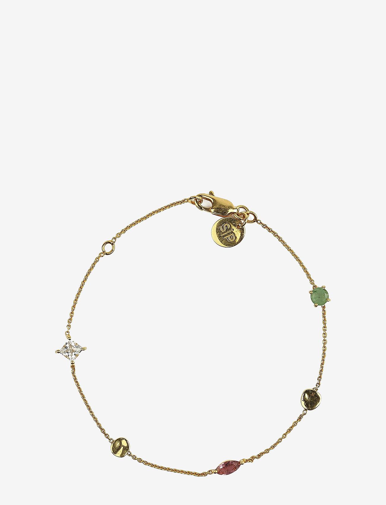 Syster P - Divine Multi Bracelet Gold - dainty - gold - 0
