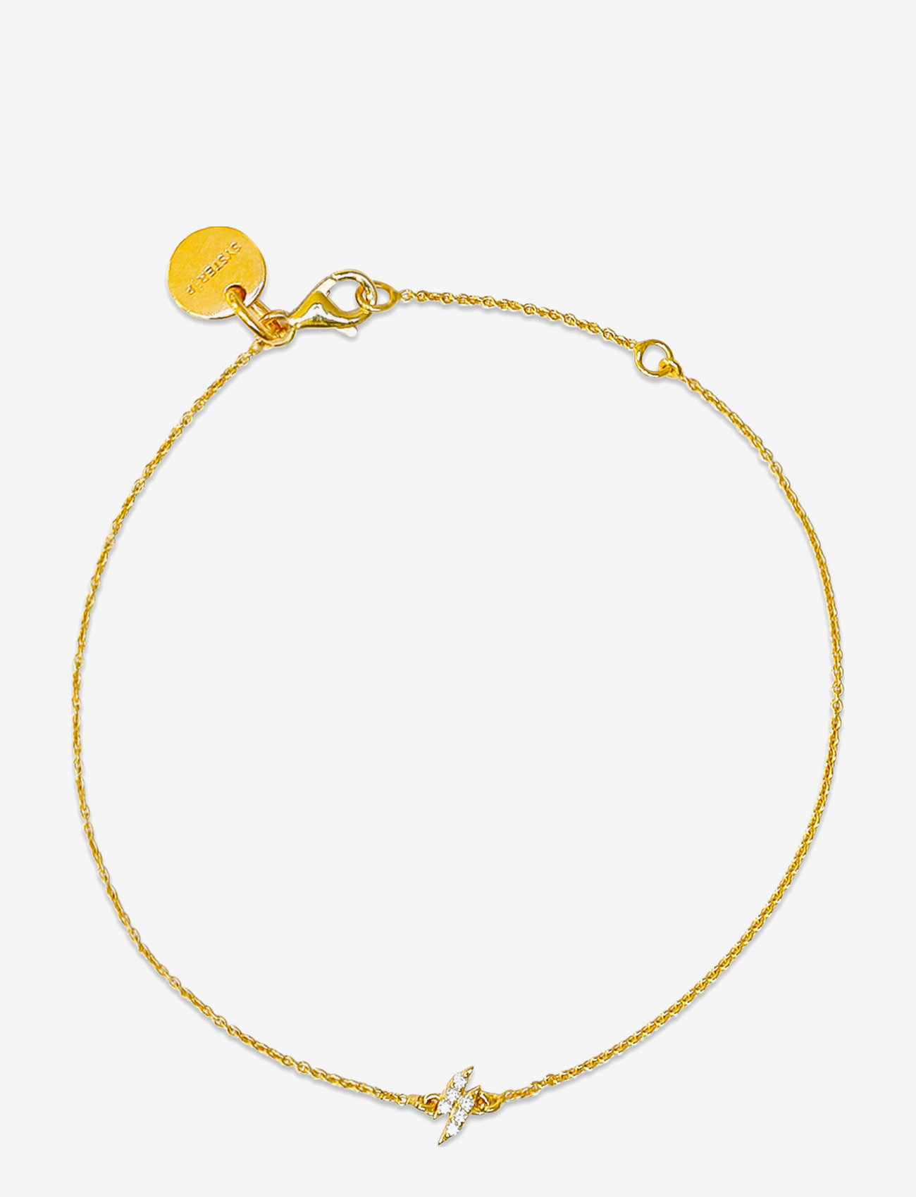 Syster P - Mini Flash Bracelet Gold - dainty - gold - 0