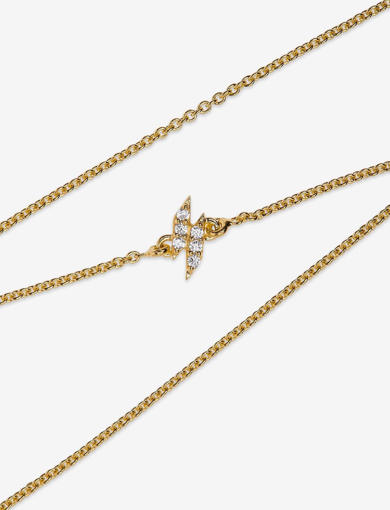Syster P - Mini Flash Bracelet Gold - dainty - gold - 1
