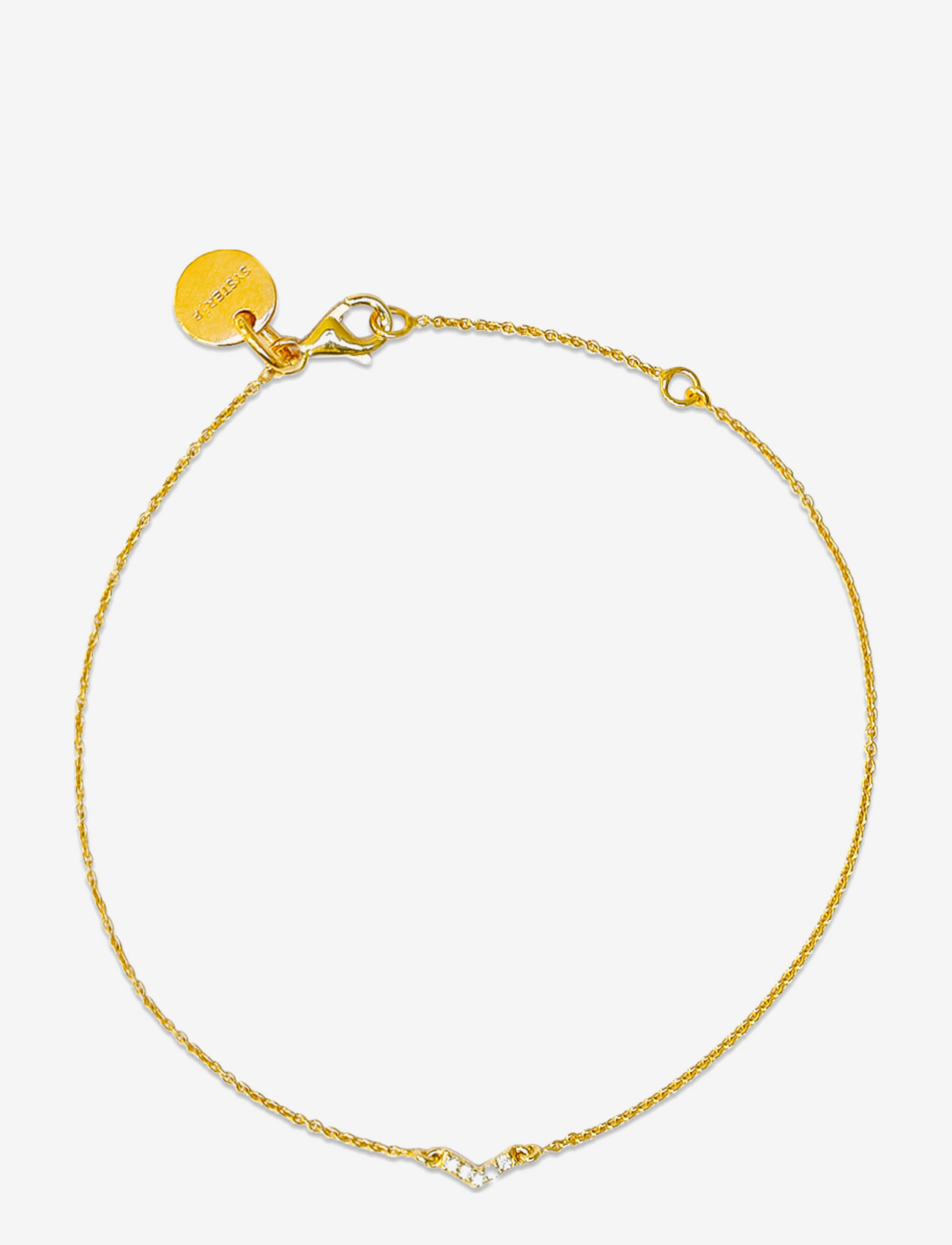 Syster P - Mini Arrow Bracelet Gold - dainty - gold - 0