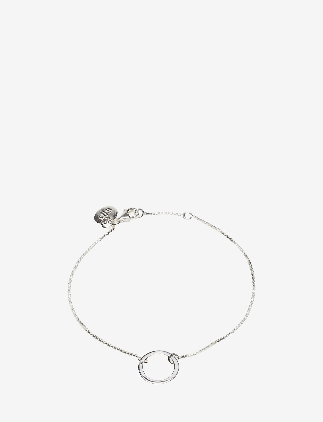 Syster P - MINIMALISTICA RING BRACELET SILVER - dainty - silver - 0